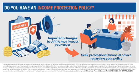 income protection insurance changes